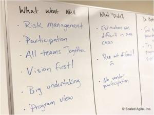 PI Planning - Retrospective