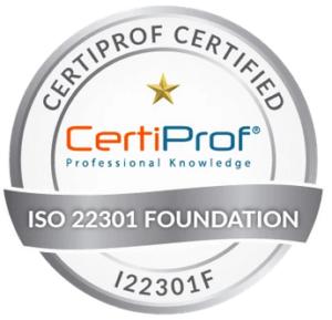 Certifiazione ISO 22301 Foundation