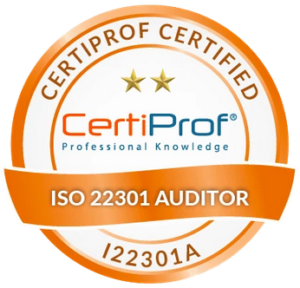 Certificazione ISO 22301 Auditor