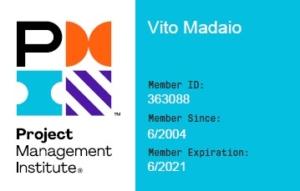 Badge PMI dal 2004